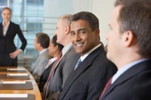 ישיבת הנהלה בחברה