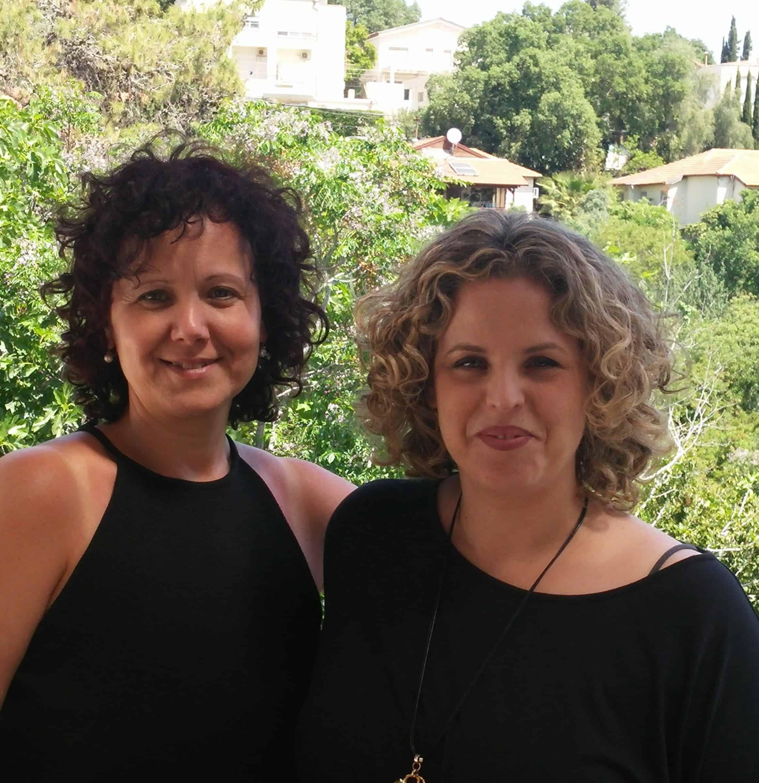 גב' יעל אונגר ארנוב והגב' אוסנת שטיין