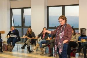 הרצאה של ורד שריג בקורס מנהלי חינוך בקהילה