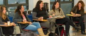 אווירת הלימודים בקורס מנהלי חינוך בקהילה 2017