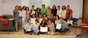 חלוקת תעודות סיום בקורס הנחיית קבוצות פסיכודינאמית 2016